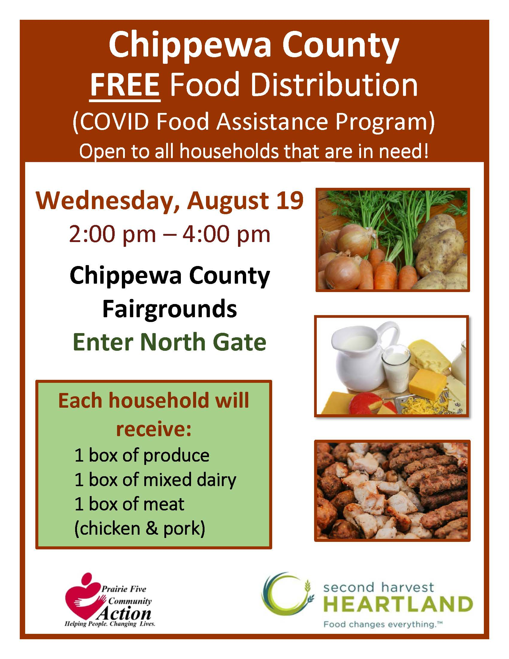 August Chippewa County Poster